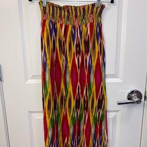 Anthropology Maxi Skirt